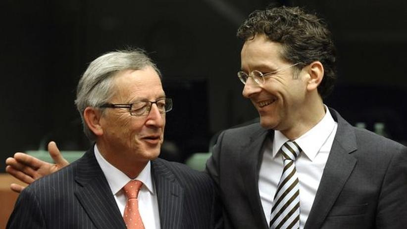 Rettungsstrategien: Juncker verärgert über Nachfolger Dijsselbloem