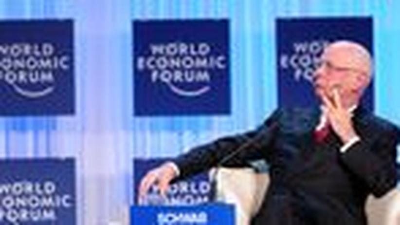 Weltwirtschaftsforum: Schwab sieht Weltwirtschaft noch immer bedroht