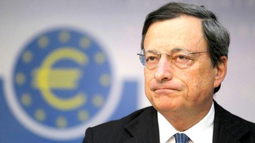 Konjunktur: EZB-Präsident Mario Draghi