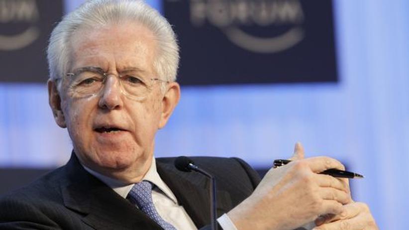 """Mario Monti: """"Ich bin wirklich für Haushaltsdisziplin"""""""