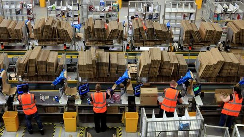 Leiharbeiter: Amazon-Logistikzentrum