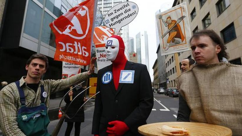Rohstoffhandel: Deutsche-Bank-Experten warnten vor Lebensmittelspekulationen