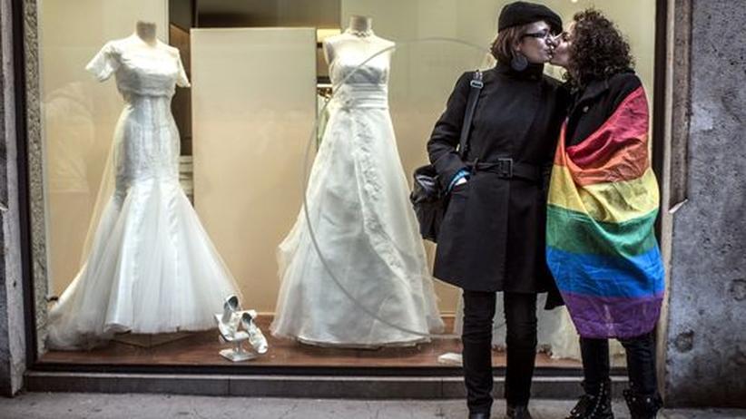 Gesetzentwurf: Frankreichs Nationalversammlung stimmt für Homo-Ehe