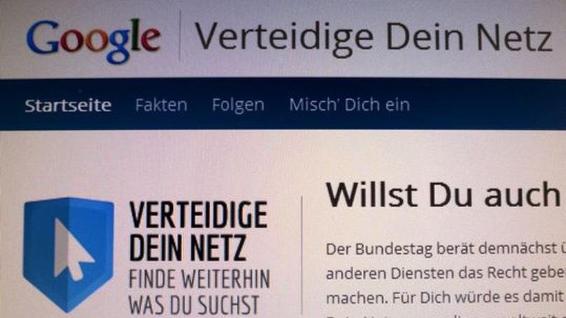 Suchmaschinen: Schwarz-Gelb will Gesetzentwurf zum Leistungsschutz entschärfen