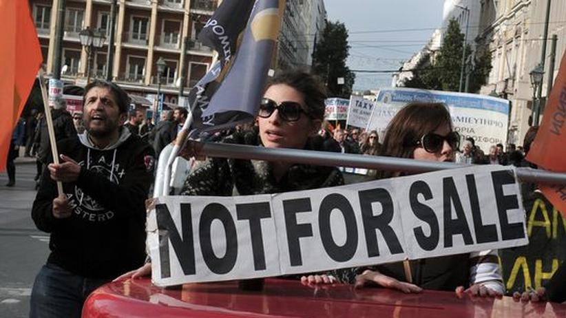 """Privatisierung in Griechenland: """"Für uns zählt nur das Geld"""""""