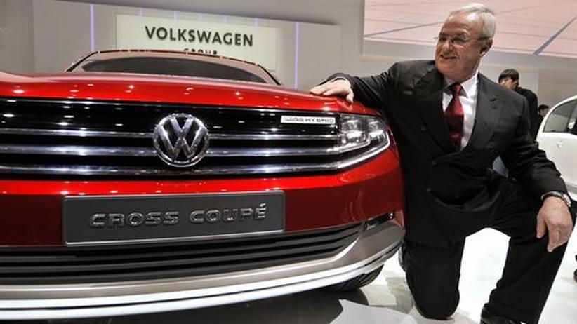 VW: Winterkorns Jahresgehalt sinkt auf 14,5 Millionen