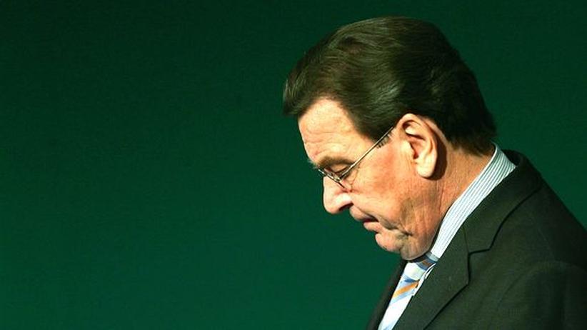 Agenda 2010: Da war er schon abgewählt: Gerhard Schröder im Oktober 2005, während seiner letzten Tage als Bundeskanzler