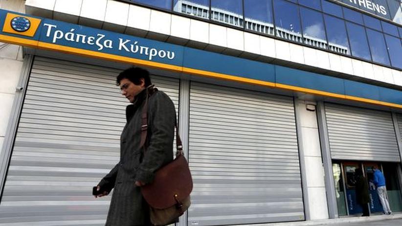 """Zypernhilfe: """"Dann testen wir die Systemrelevanz"""""""