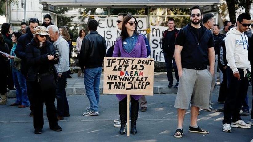 Euro-Krise: Zyperns Parlament will Zwangsabgabe ablehnen