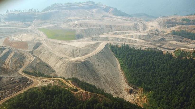Kohleabbau in den Appalachen im US-Bundesstaat West Virginia