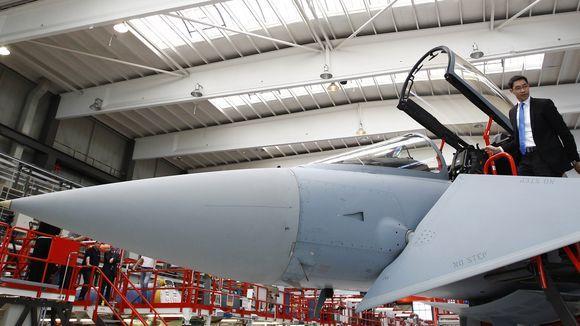 Kampfjet Eurofighter