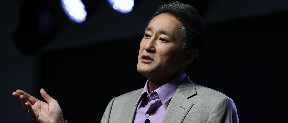 Sony-CEO Kazuo Hirai