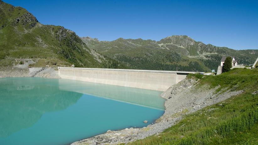 Schweiz: Der Stausee Lac de Cleuson im Wallis