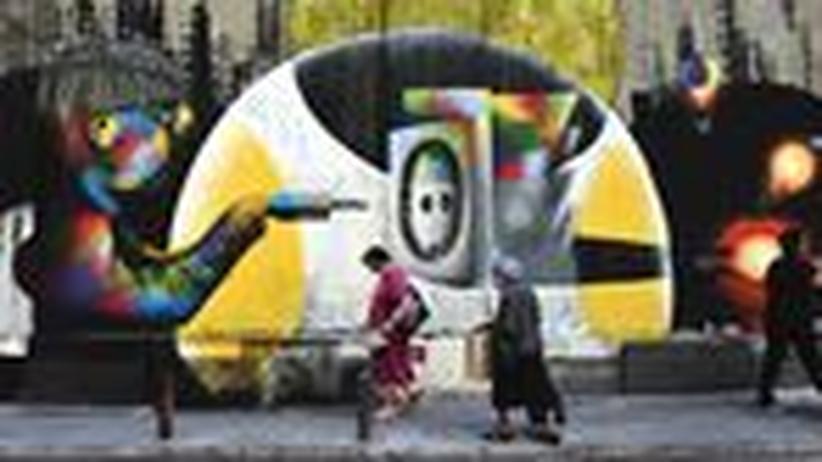 Schuldenkrise: Im Athener Stadtzentrum