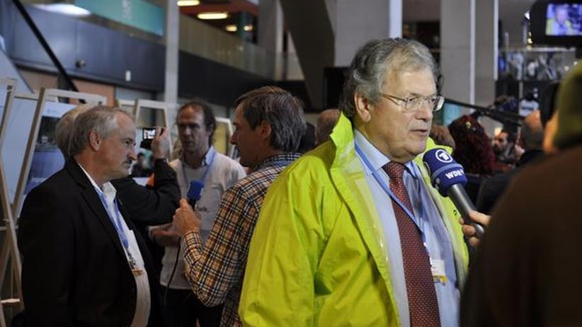 Hubert Weiger, der Vorsitzende des Bundes für Umwelt- und Naturschutz (BUND)