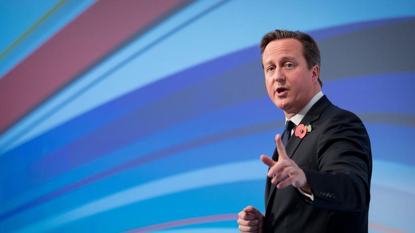 Großbritannien: Der britische Premier David Cameron