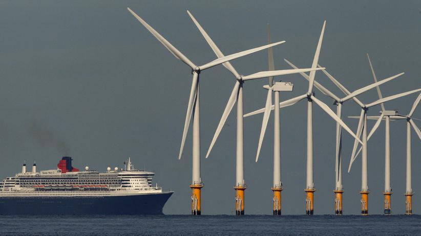 Offshore-Windparks: Energiewende vor der britischen Küste
