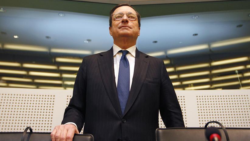 Geldpolitik: Zentralbank-Präsident Mario Draghi