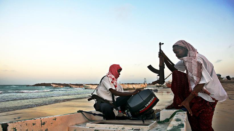 Horn von Afrika: Piraten an der Küste von Somalia (Archiv)