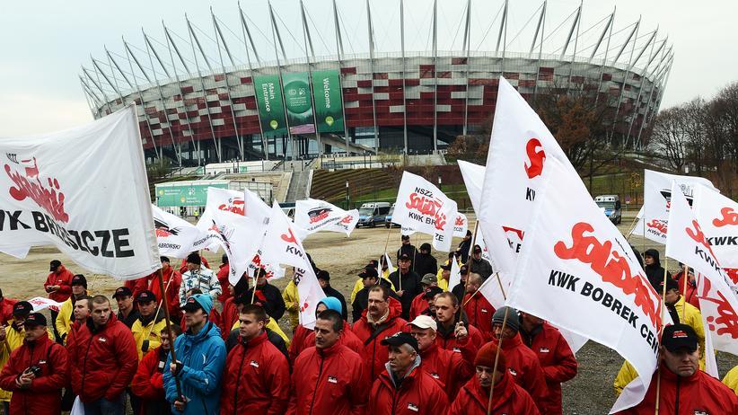 Umweltschutz: Pro-Kohle-Proteste am Rande der Klimakonferenz in Warschau