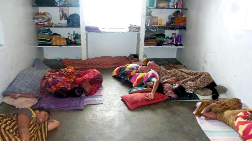 Sumangali-System: Unterkunft für Sumangali-Mädchen