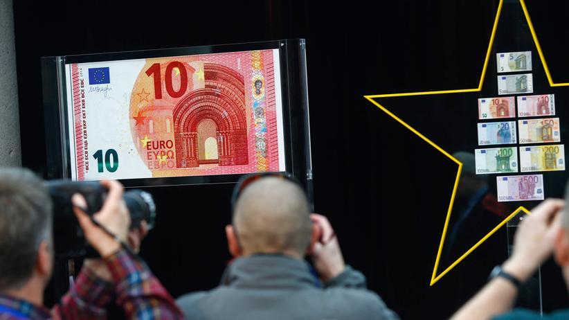 Währung: EZB präsentiert neuen Zehn-Euro-Schein
