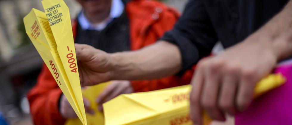 Mindestlohn Schweiz Abstimmung 18.5.2014