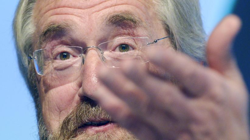 Der Chefvolkswirt der Europäischen Zentralbank Peter Praet