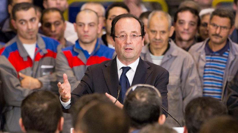 Offerten abgelehnt: Frankreichs Präsident François Hollande in einem Alstom-Werk