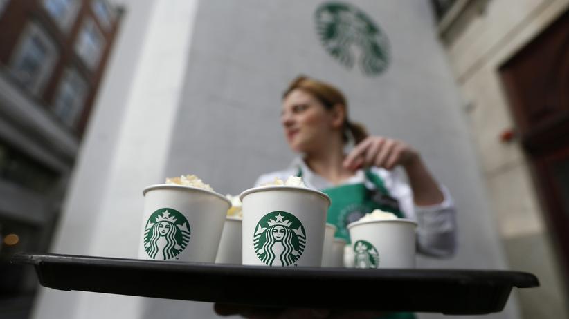 Europäische Union: Eine Starbucks-Filiale in London