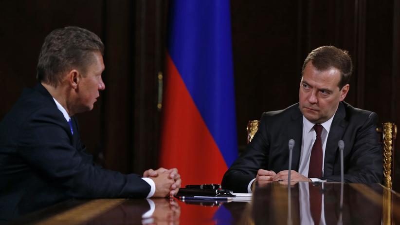 Erdgas: Gazprom, Russlands neues Außenministerium