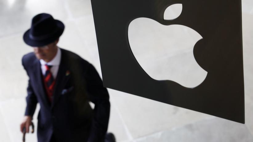 Eine Apple-Filiale in London