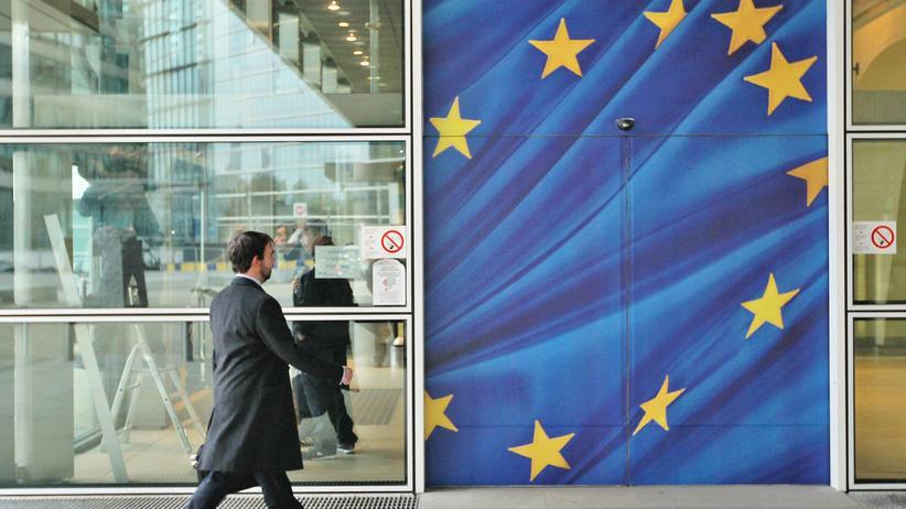 Das Berlaymont-Gebäude der Europäischen Kommission in Brüssel