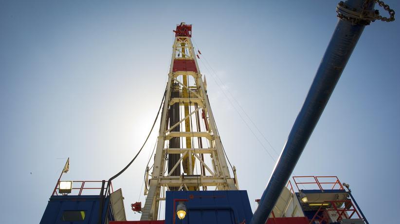 Schiefergas-Förderung : Schiefergas-Suche in den USA