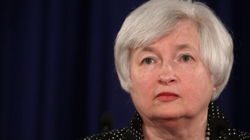 Federal Reserve Janet Yellen USA