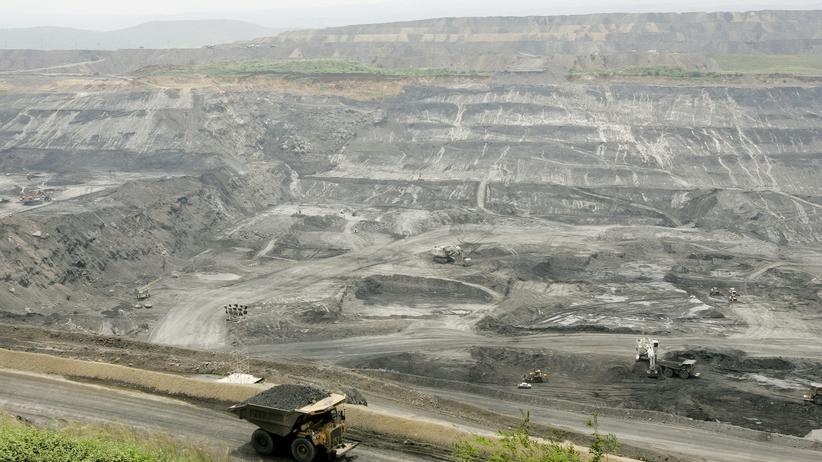 Kolumbien: Eine Kohle-Tagebau in Kolumbien