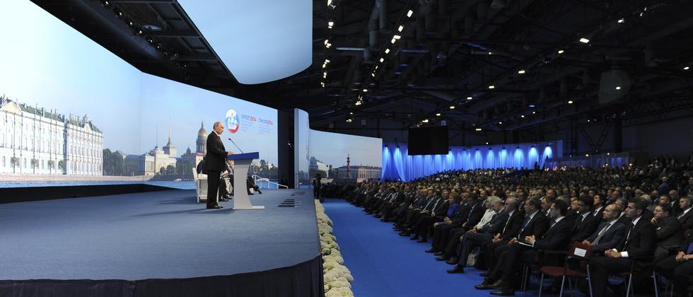 Russland Wirtschaft Rezession Wladimir Putin