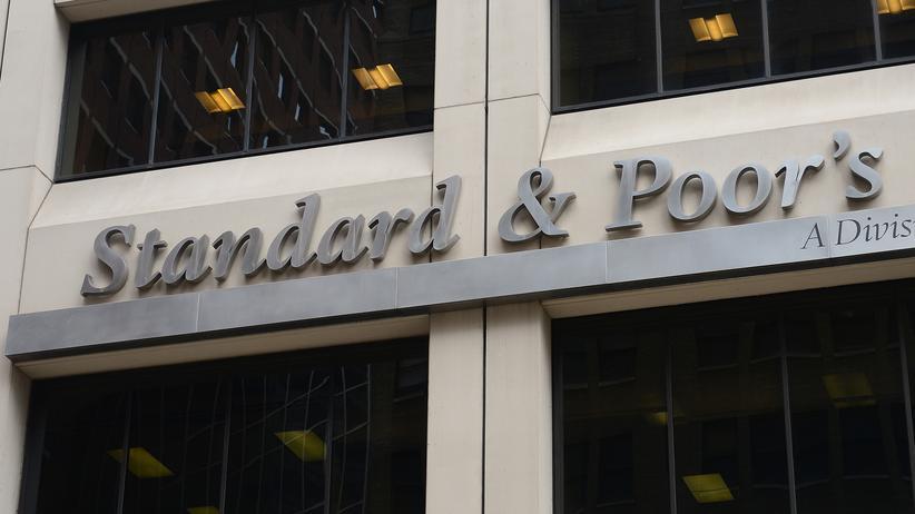 US-Ratingagentur: Die Firmenzentrale von Standard & Poor's in New York