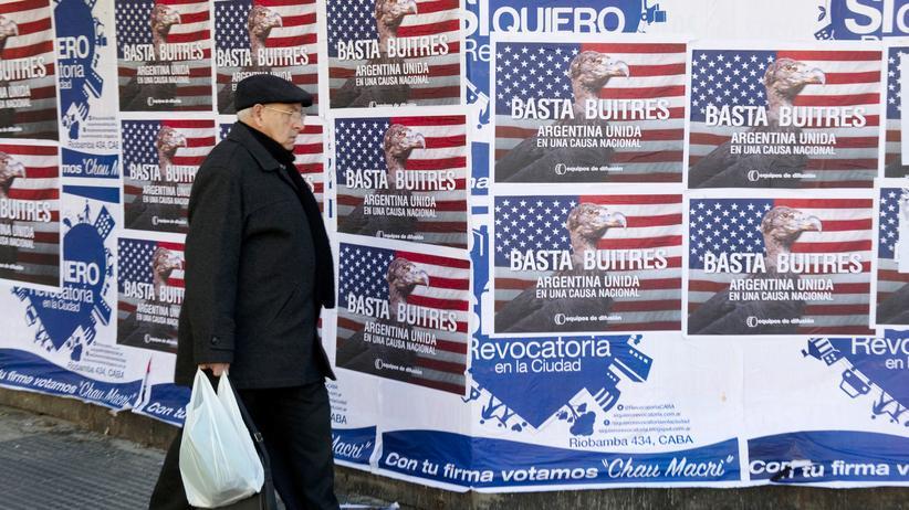 Staatspleite Argentiniens: US-Gericht erzwingt neue Gespräche im Schuldenstreit