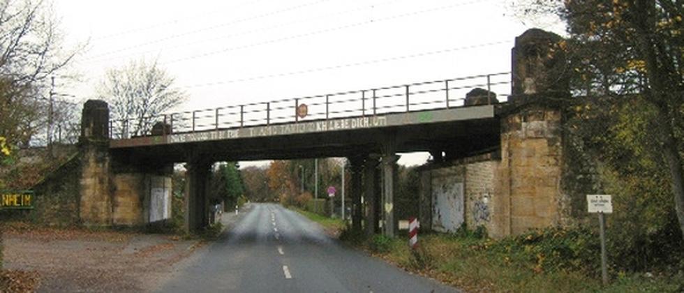 Unscheinbar, aber enorm wichtig: die Langefeldbrücke bei Hannover
