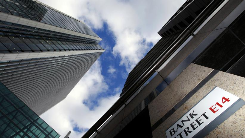 London: Das Finanzzentrum in der Londoner City steht für ein Zehntel der gesamten britischen Wirtschaftsleistung