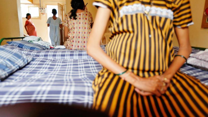 Leihmütter: Eine Leihmutter in Indien