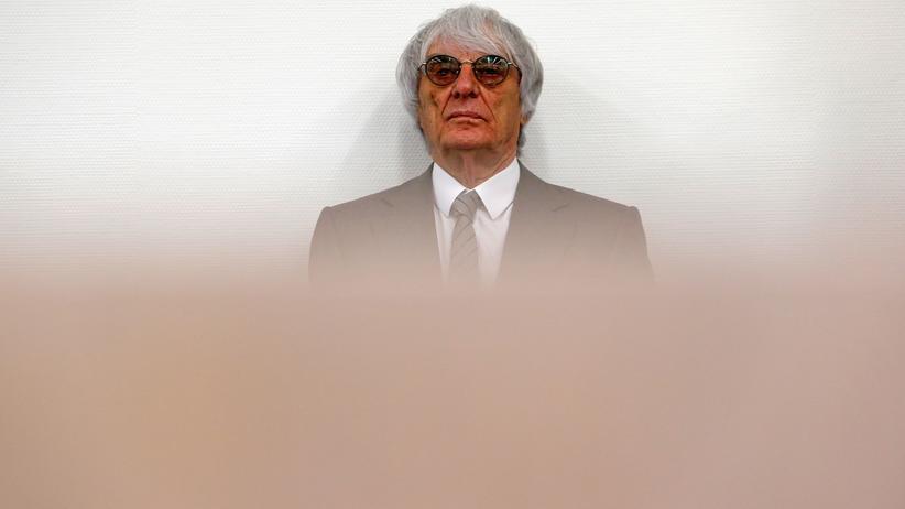 Korruptionsprozess: Ecclestone bietet Gericht 100 Millionen Dollar