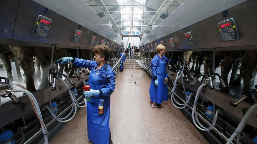 Ukraine-Krise: Russisches Wirtschaftswachstum bricht ein