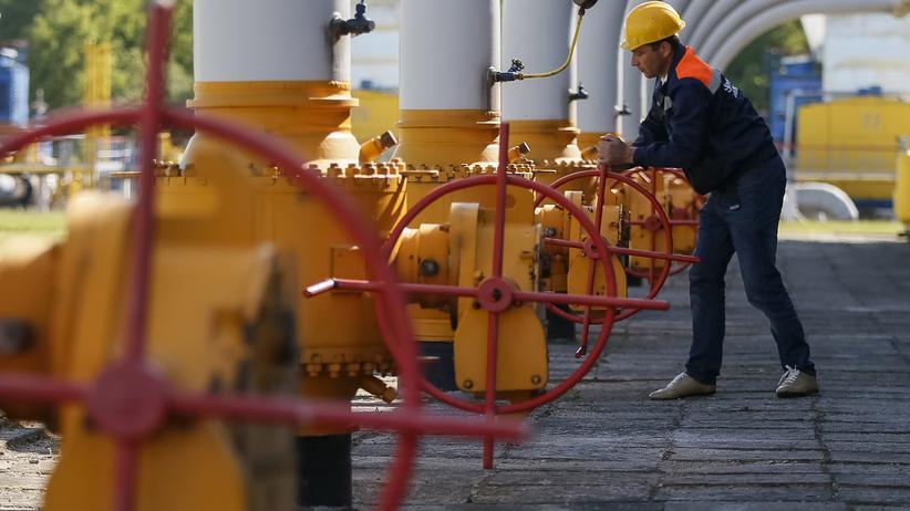 Erdgas: Erdgasspeicher in Stryj/Ukraine (Archiv)