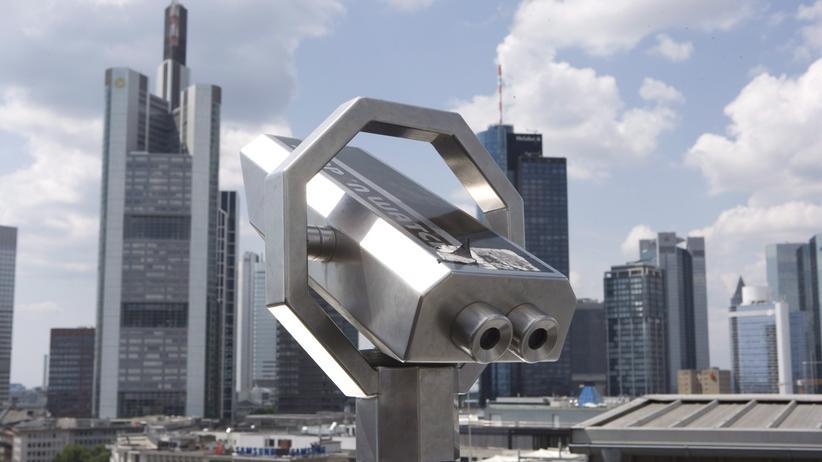 Steuern: Das Bankenviertel in Frankfurt am Main