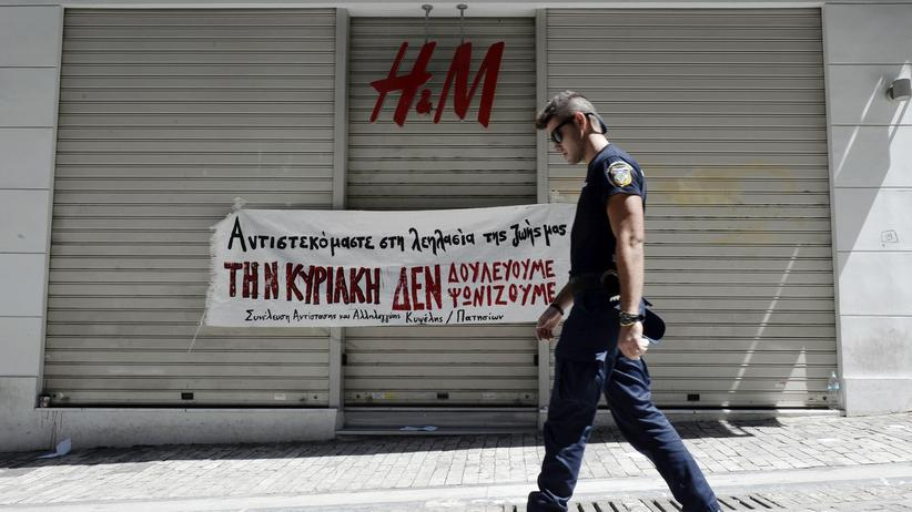 Wirtschaftskrise: Griechenlands Renten in Gefahr