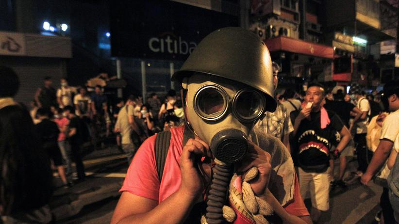 China: Proteste in Hongkong