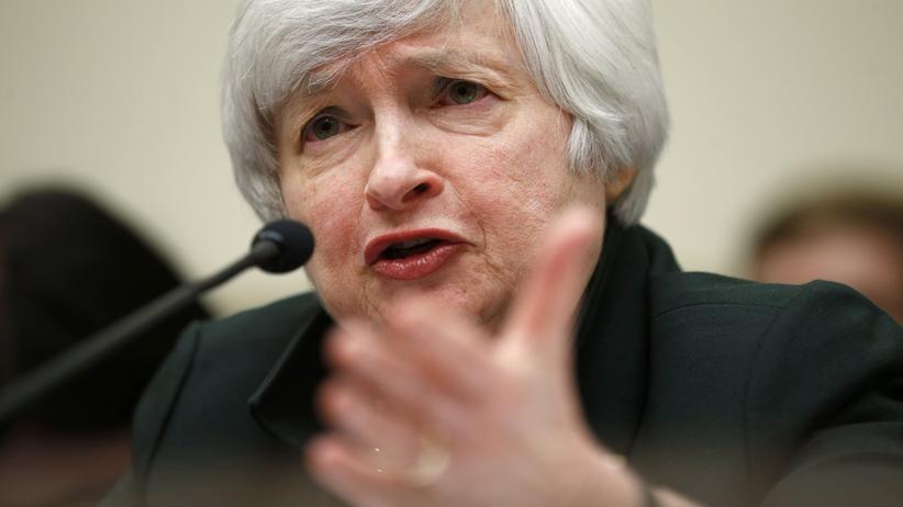 Banken: Janet Yellen, Präsidentin der US-Notenbank Federal Reserve (Archiv)