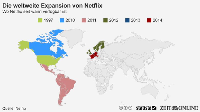 Streaming-Dienst: Netflix erobert Europa